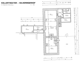 Plan des Kellertheaters